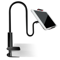 Tablet houder & Telefoonhouder - Telefoon Statief Flexibel - Tot 10.6 inch - Universeel - Zwart