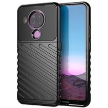 Nokia 5.4 hoesje - Schokbestendige TPU back cover - Zwart