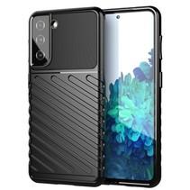 Samsung Galaxy S21 Hoesje - Schokbestendige TPU back cover - Zwart