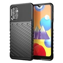 Samsung Galaxy A32 5G Hoesje - Schokbestendige TPU back cover - Zwart