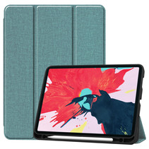 iPad Pro 2021 Hoes (11 Inch) - Cowboy Cover Book Case - Turquoise