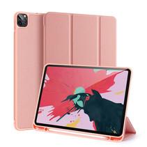 iPad Pro 2021 Hoes (11 Inch) - Dux Ducis Domo Book Case met stylus pen houder - Roze