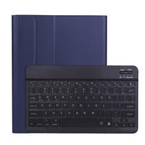 iPad Pro 2021 (11 Inch) Hoes - Bluetooth Toetsenbord hoes - Toetsenbord verlichting - Blauw
