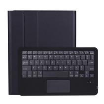iPad Pro 2021 (11 Inch) Hoes - Bluetooth Toetsenbord hoes - Toetsenbord hoes met Touchpad- Zwart