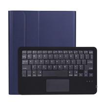 iPad Pro 2021 (11 Inch) Hoes - Bluetooth Toetsenbord hoes - Toetsenbord hoes met Touchpad - Blauw
