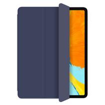 WIWU - iPad Pro 2021 Hoes (11 Inch) - PU Leren Tri-Fold Book Case - Blauw