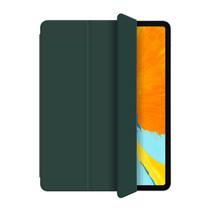 WIWU - iPad Pro 2021 Hoes (11 Inch) - PU Leren Tri-Fold Book Case - Groen