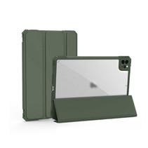 iPad Pro 2021 Hoes (11 Inch) - Schokbestendige Tri-Fold Case met TPU frame - Alpha Smart Folio Case - Groen