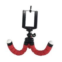 Statief Smartphone - Tripod voor Smartphone en Telefoon - 25 cm - Flexibel - Rood