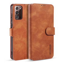 CaseMe - Samsung Galaxy Note 20 Hoesje - Magnetisch 2 in 1 Case - Ming Serie - Leren Back Cover - Licht Bruin