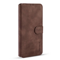 CaseMe - iPhone 11 Pro Max Hoesje - Magnetisch 2 in 1 Case - Ming Serie - Leren Back Cover - Donker Bruin