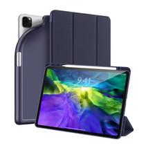 Apple iPad Pro 2021 (12.9 Inch) Hoes - Dux Ducis Osom Tri-Fold Book Case Series - Blauw