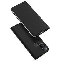 OnePlus Nord N100 Hoesje - Dux Ducis Skin Pro Book Case - Zwart