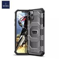 WiWu - iPhone 12 / iPhone 12 Pro Hoesje - Voyager Case - Schokbestendige Back Cover - Zwart