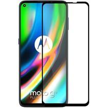 Motorola Moto G9 Plus Screenprotector - Full Cover - Transparant