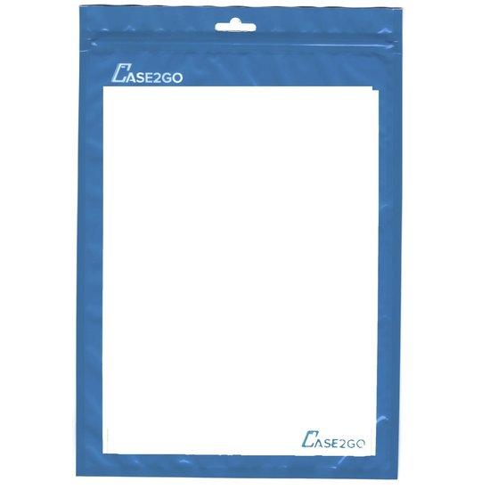 Case2go Telefoon en Tablet houder - Ergonomisch design - Opvouwbaar - Smartphone standaard voor Bureau of Tafel - Zwart