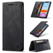 AutSpace - iPhone 11 Pro hoesje - Wallet Book Case - Magneetsluiting - met RFID bescherming - Zwart