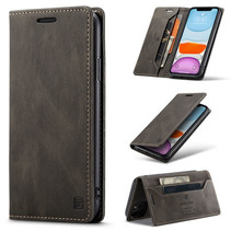 AutSpace - iPhone 11 Pro Max hoesje - Wallet Book Case - Magneetsluiting - met RFID bescherming - Bruin