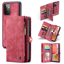 CaseMe - Samsung Galaxy A72 5G Hoesje - 2 in 1 Back Cover - Rood