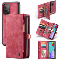 CaseMe - Samsung Galaxy A52 5G Hoesje - 2 in 1 Back Cover - Rood