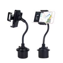Telefoonhouder Auto - Bekerhouder Auto Telefoon - Universele Car Cup Holder voor alles Smartphones iPhone/Samsung/Huawei/OnePlus - Zwart