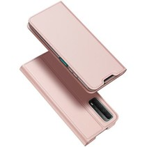 Huawei P Smart 2021 hoesje - Dux Ducis Skin Pro Book Case - Rosé-Goud