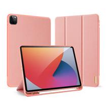 iPad Pro 2021 (11 Inch) Hoes - Dux Ducis Domo Book Case - Roze