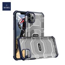WiWu - iPhone 12 / iPhone 12 Pro Hoesje - Voyager Case - Schokbestendige Back Cover - Blauw