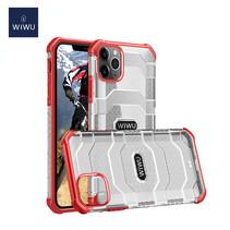 WiWu - iPhone 12 / iPhone 12 Pro Hoesje - Voyager Case - Schokbestendige Back Cover - Rood