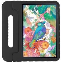 Samsung Galaxy Tab S7 - 11 inch - Schokbestendige case met handvat - Eva Kids Cover - Zwart