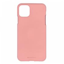 Apple iPhone 11 Pro Max Hoesje - Soft Feeling Case - Back Cover - Roze