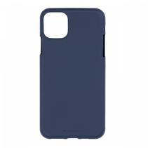 Apple iPhone 12 / iPhone 12 Pro Hoesje - Soft Feeling Case - Back Cover - Donker Blauw