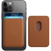 Magsafe Wallet Case voor iPhone 12 Mini / iPhone 12 / iPhone 12 Pro / iPhone 12 Pro MAX - Magnetische Kaarthouder - Pasjeshouder - Bruin
