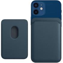 Magsafe Wallet Case voor iPhone 12 Mini / iPhone 12 / iPhone 12 Pro / iPhone 12 Pro MAX - Magnetische Kaarthouder - Pasjeshouder - Donker Blauw