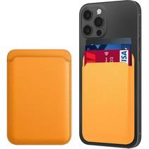 Magsafe Wallet Case voor iPhone 12 Mini / iPhone 12 / iPhone 12 Pro / iPhone 12 Pro MAX - Magnetische Kaarthouder - Pasjeshouder - Oranje