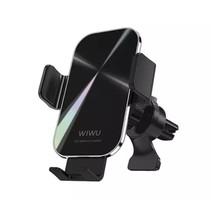 Draadloze Telefoonhouders Auto - 15 Watt - Universele Telefoonhouder Auto Zuignap - Draadloze oplader - Zwart