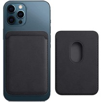 Magsafe Wallet Case voor iPhone 12 Mini / iPhone 12 / iPhone 12 Pro / iPhone 12 Pro MAX - Magnetische Kaarthouder - Pasjeshouder - Zwart