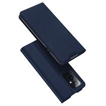OnePlus 9 hoesje - Dux Ducis Skin Pro Book Case - Donker Blauw