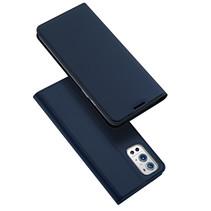OnePlus 9 Pro hoesje - Dux Ducis Skin Pro Book Case -Donker Blauw