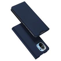 Xiaomi Mi 11 hoesje - Dux Ducis Skin Pro Book Case - Donker Blauw