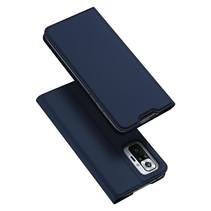 Xiaomi Redmi Note 10 Pro hoesje - Dux Ducis Skin Pro Book Case - Donker Blauw
