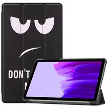 Samsung Galaxy Tab A7 Lite (2021) hoes - Tri-Fold Book Case - Don't Touch Me