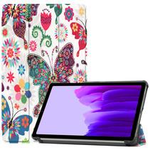 Samsung Galaxy Tab A7 Lite (2021) hoes - Tri-Fold Book Case - Vlinders