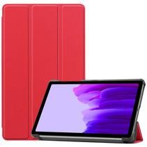 Samsung Galaxy Tab A7 Lite (2021) hoes - Tri-Fold Book Case - Rood