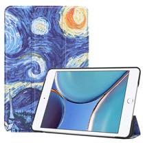 iPad Mini 6 2021 (8.3 inch) Hoes - Tri-Fold Book Case - Sterrenhemel