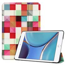 iPad Mini 6 2021 (8.3 inch) Hoes - Tri-Fold Book Case - Blocks
