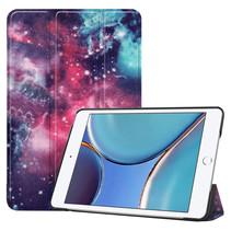 iPad Mini 6 2021 (8.3 inch) Hoes - Tri-Fold Book Case - Galaxy