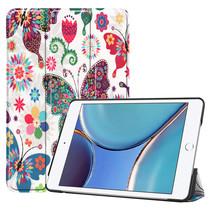 iPad Mini 6 2021 (8.3 inch) Hoes - Tri-Fold Book Case - Vlinders