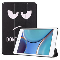 iPad Mini 6 2021 (8.3 inch) Hoes - Tri-Fold Book Case - Don't Touch Me
