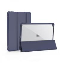 iPad 9.7 2017/2018 Hoes - Schokbestendige Tri-Fold Case met TPU frame - Alpha Smart Folio Case - Navy Blauw